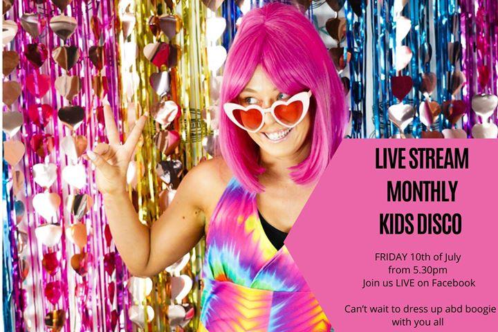 Live Stream Kids Disco