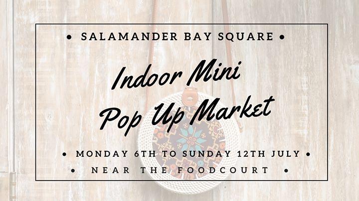 JULY Indoor Pop Up Market