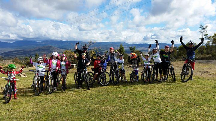 SCA Under Armour Mountain Bike Camp Mt Stromlo, ACT