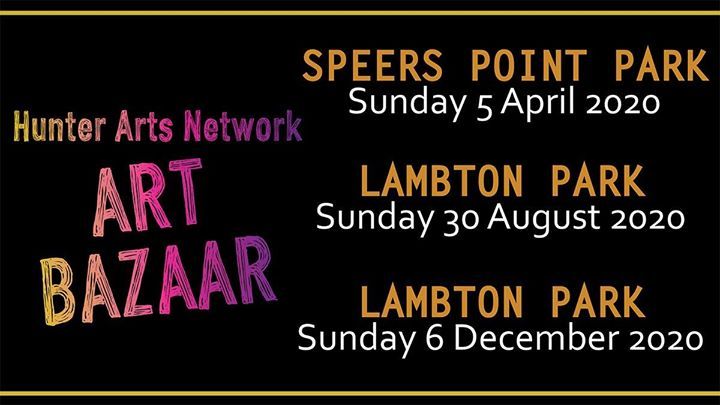 Hunter Arts Network Art Bazaar Lambton Park Sun 30 August 2020