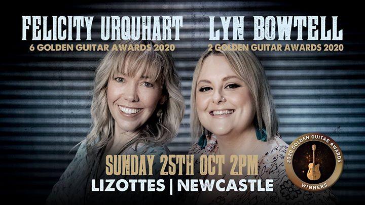 Felicity Urquhart & Lyn Bowtell – Live at Lizottes