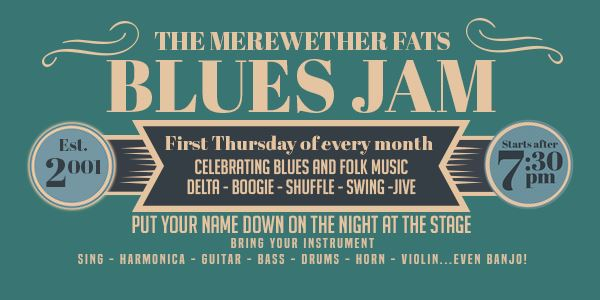 The Merewether Fats' Blues Jam