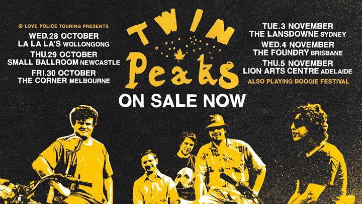 Twin Peaks – Newcastle