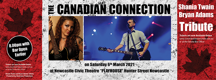 Shania Twain – Bryan Adams Tribute – The Canadian Connection