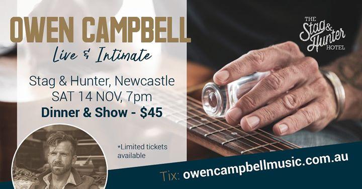 Owen Campbell LIVE