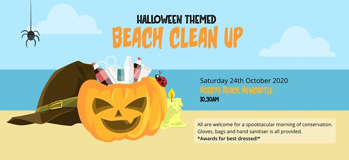 Halloween Beach Clean Up for Planet Lovers