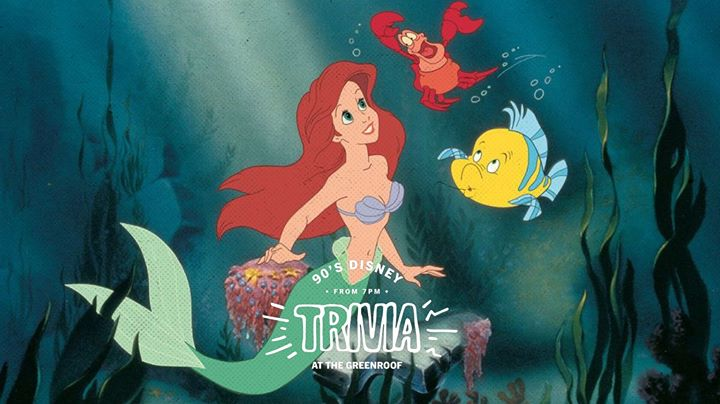 90's Disney Trivia at The Greenroof