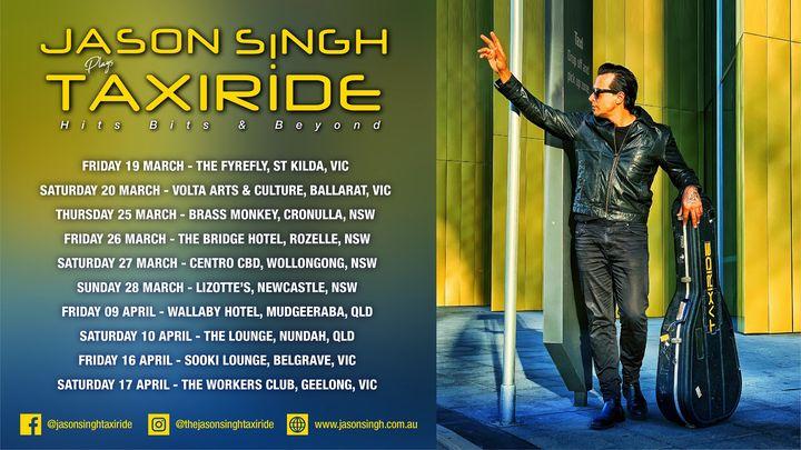 Jason Singh plays Taxiride