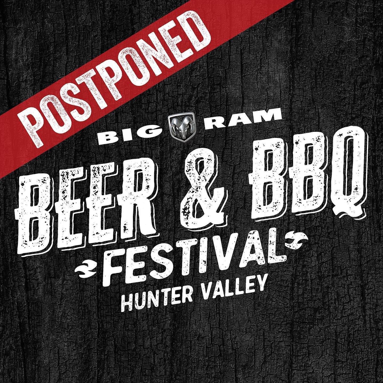 POSTPONED: Big RAM Beer & BBQ Festival Hunter Valley 2021
