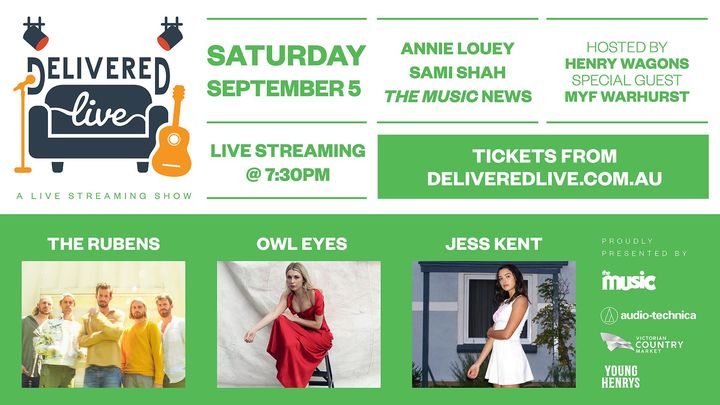 DELIVERED LIVE: The Rubens, Owl Eyes, and Jess Kent