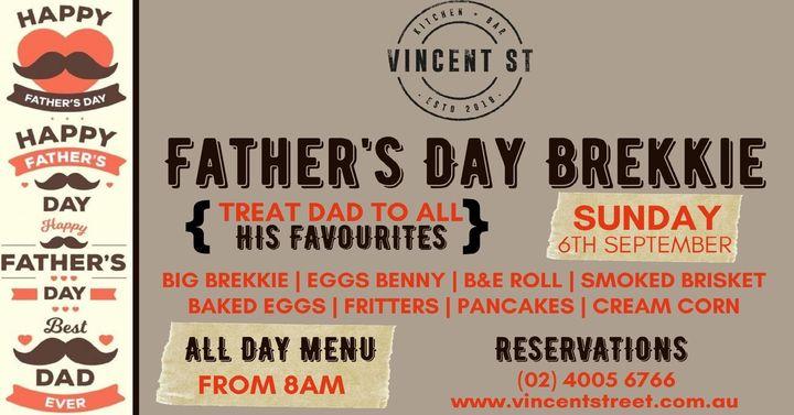 Father's Day Brekkie