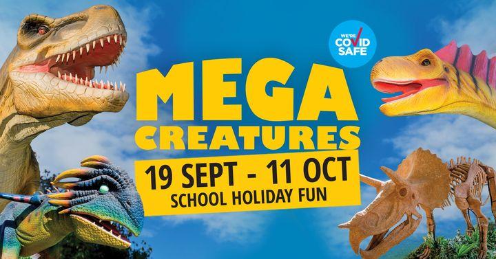 Mega Creatures at Hunter Valley Gardens