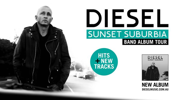 Diesel Sunset Suburbia Album Band Tour 2021