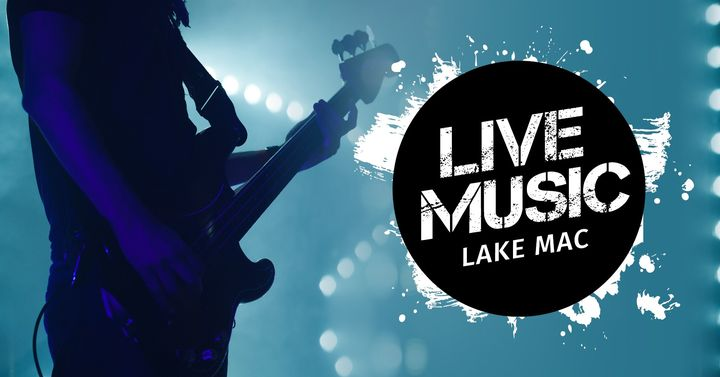 LIVE MUSIC LAKE MAC:  Ash Grunwald
