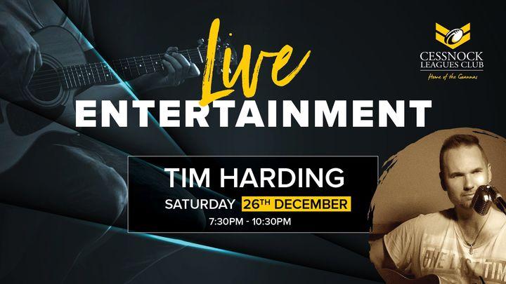 Tim Harding – LIVE