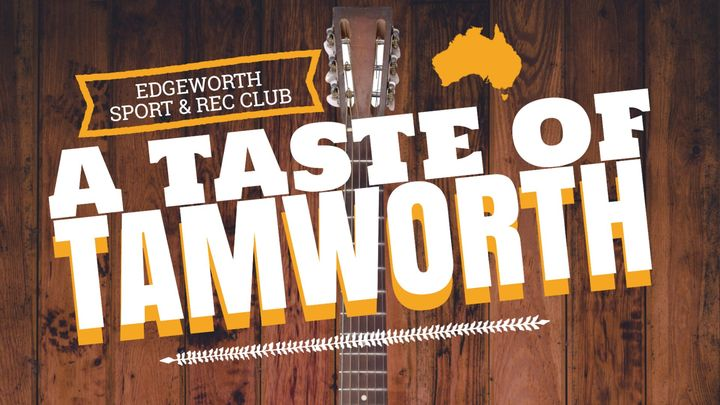 TASTE OF TAMWORTH – COUNTRY ON THE GREEN – Sun 17th January