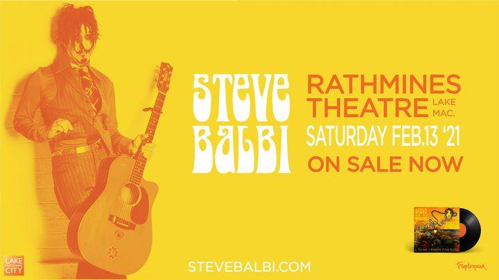 STEVE BALBI   RATHMINES THEATRE, LAKE MAC.