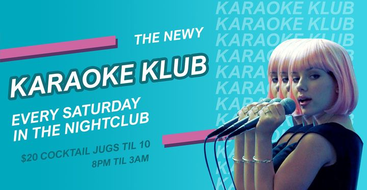 Karaoke Klub & Fifa21 Comp at The Newy ~ Free Entry
