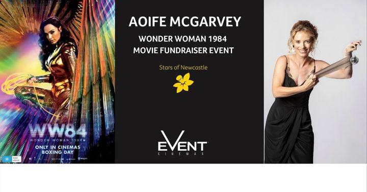 Aoife McGarvey Stars of Newcastle Fundraiser Wonder Woman 1984