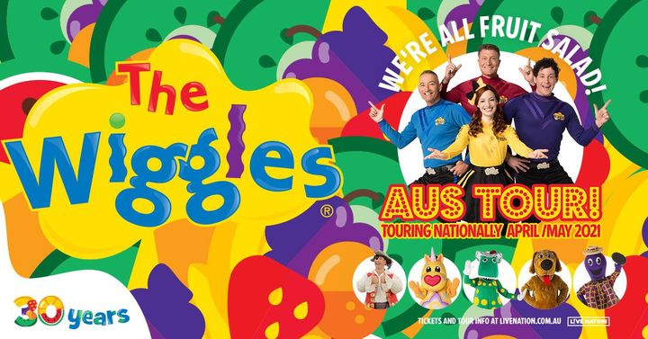 The Wiggles   We're All Fruit Salad! Tour – Newcastle