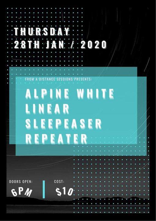Sleepeaser – Linear – Alpine White – Repeater @ FAD