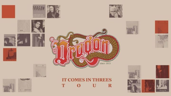 LIVE ON THE LAKE: Dragon – 'It Comes In Threes Tour'