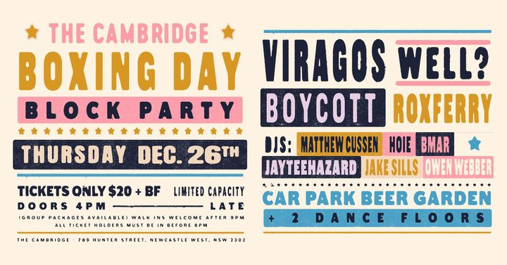 Boxing Day at The Cambridge