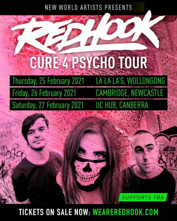 RedHook – Cure 4 Psycho Tour (Newcastle)