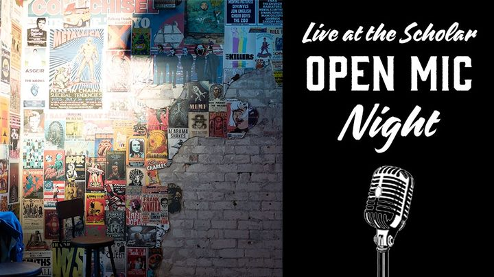 Open Mic Night – Live at the Scholar