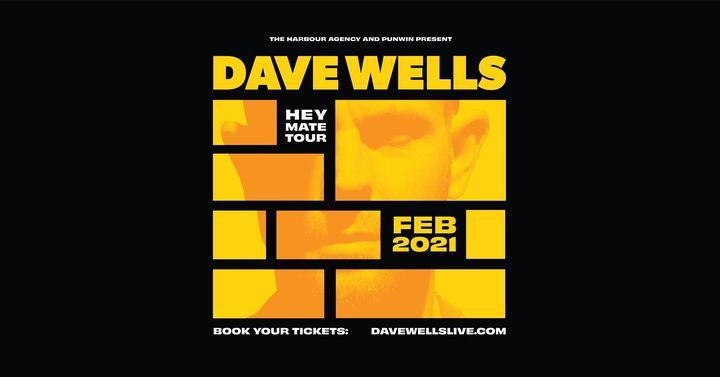 Dave Wells – The Small Ballroom ('Hey Mate' Launch)