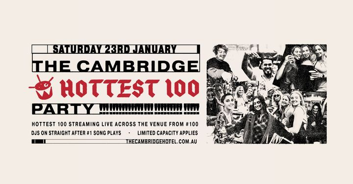Hottest 100 Party at The Cambridge