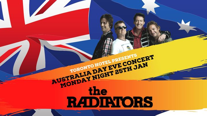 THE RADIATORS- LIVE ON THE LAKE – OZ DAY EVE CONCERT.