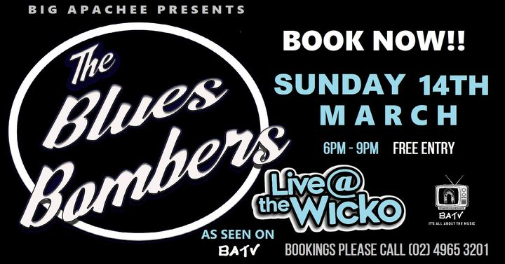 BLUES BOMBERS Live@TheWicko