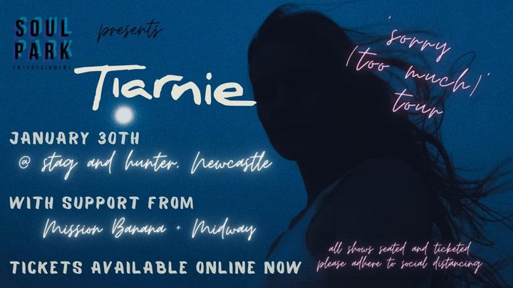Tiarnie   'Sorry (Too Much)' Single Launch @ Stag & Hunter, Newcastle