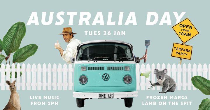 Australia Day Car Park Party!