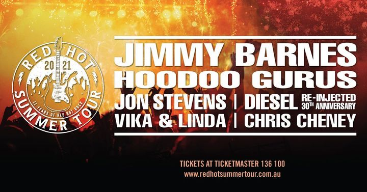 Red Hot Summer Tour – Hunter Valley