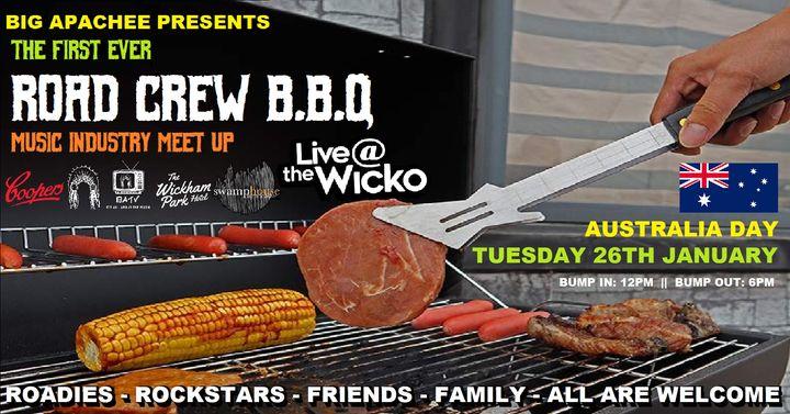 ROAD CREW BBQ: Music Industry Meet-Up