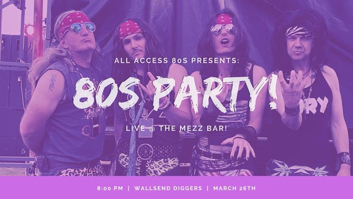 AA80s Back @ The Mezz Bar!