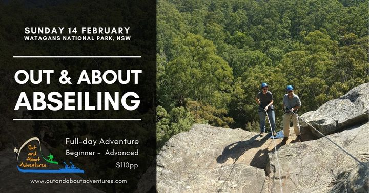 Out & About Abseiling – Watagans National Park