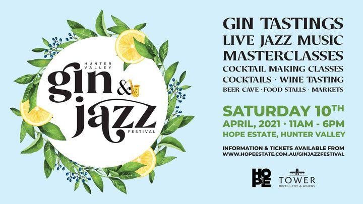 Hunter Valley Gin & Jazz Festival 2021