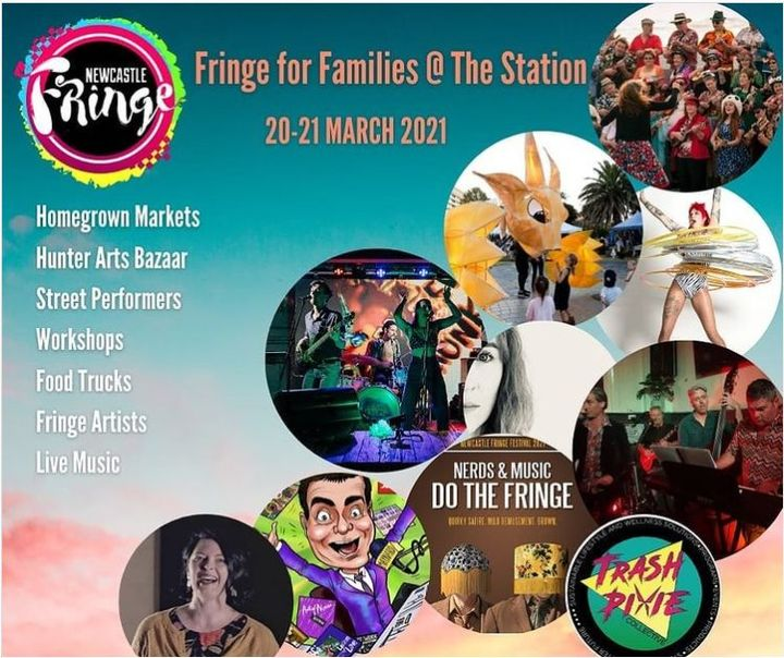 Hunter Arts Network Art Bazaar Newcastle Fringe for Families @ The Station on Sunday 21 March 4pm to 10pm