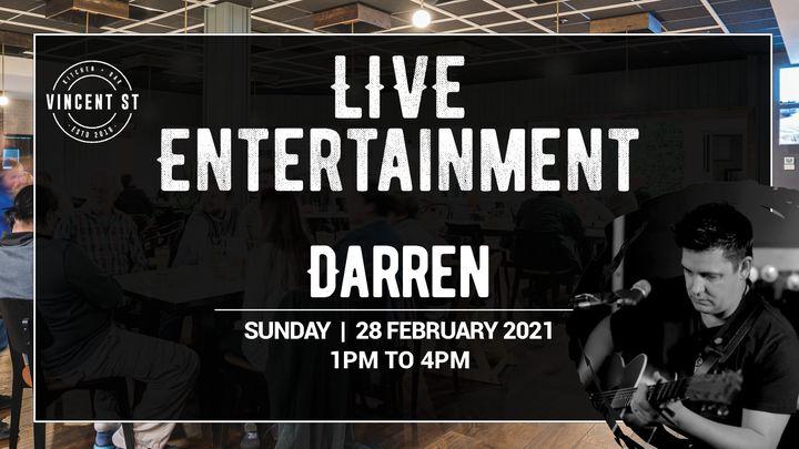 Darren Gould – LIVE