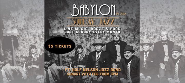 Sunday Jazz with Half Nelson