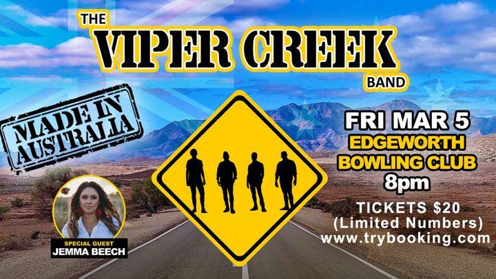 The Viper Creek Band – 'Made In Australia'