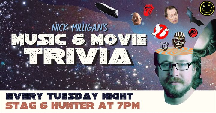 Music and Movie Trivia with Nick Milligan