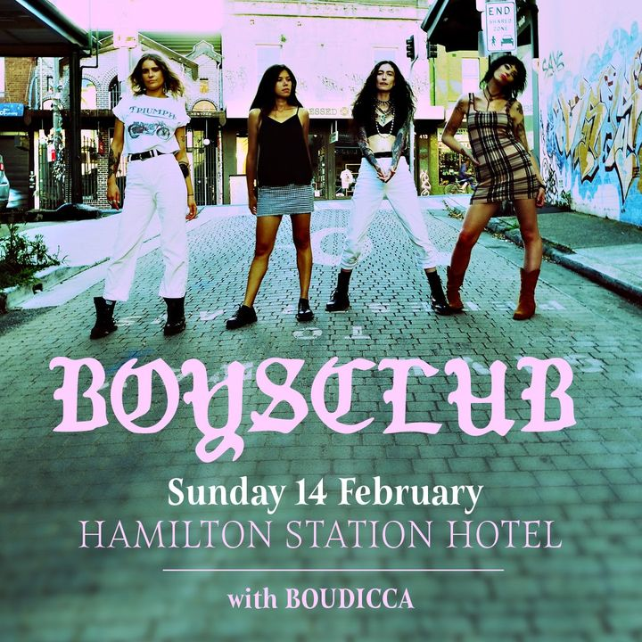 BOYSCLUB 'Newcastle Launch' w/ Boudicca