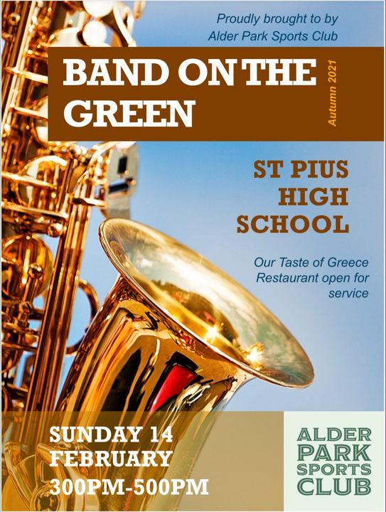 BAND ON THE GREEN