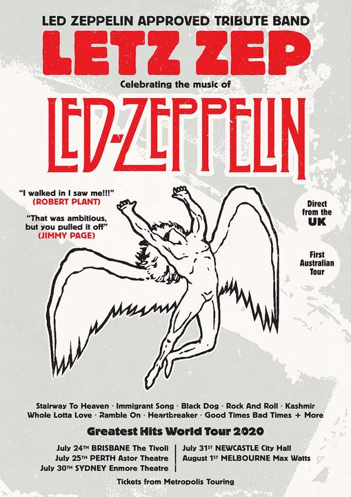 Letz Zep – World Tour