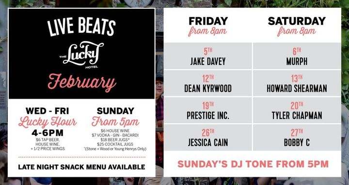 LIVE BEATS at The Lucky