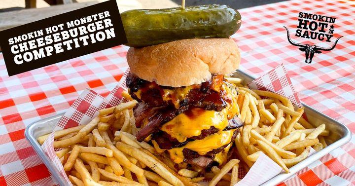 Smokin Hot Monster Cheeseburger Competition